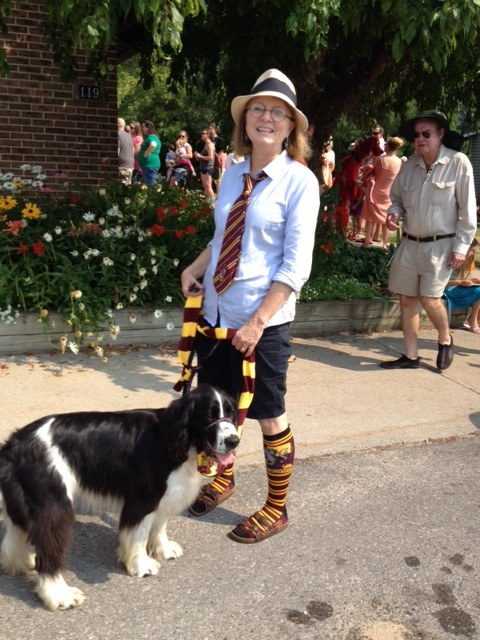 Harry Pawter Dog Parade with Booker & Deb