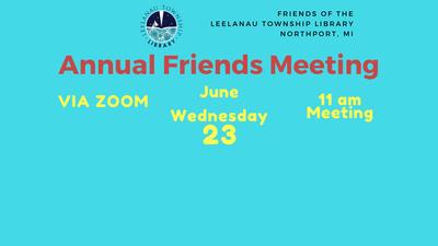 Annual Friends Meeting