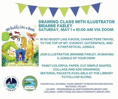 Drawing Class with illustrator Brianne Farley