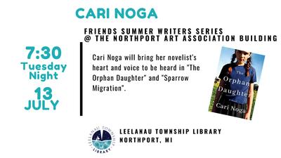 Summer Writer's Series - Cari Noga
