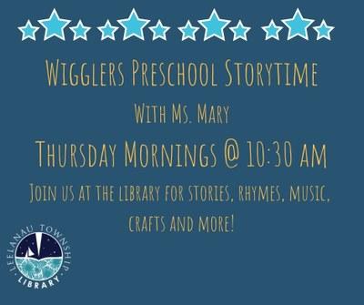 Wigglers Preschool Storytime