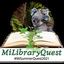 MI Library Quest Animal Logo